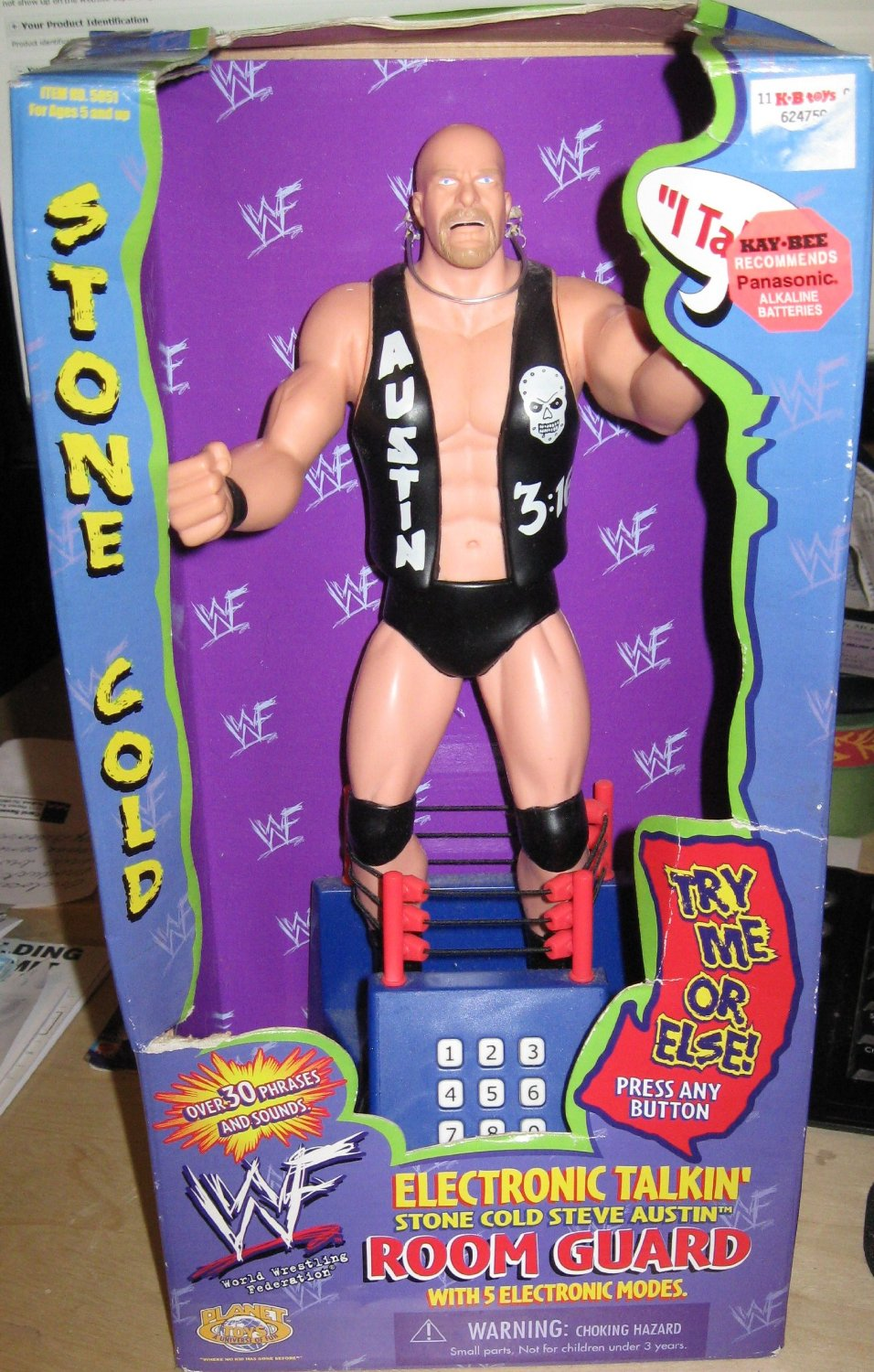 Stone Cold Steve Austin Room Guard alarm