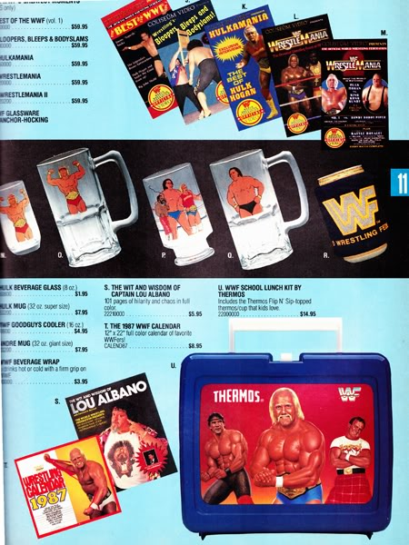 The Wit and Wisdom of Captain Lou Albano WWF 1987 catalog