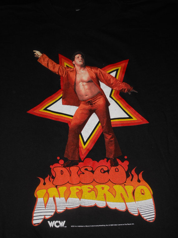 WCW Disco Inferno shirt