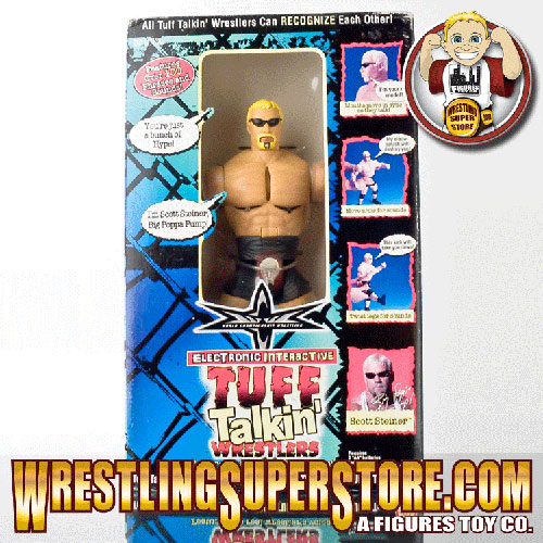 WCW Tuff Talking Scott Steiner figure