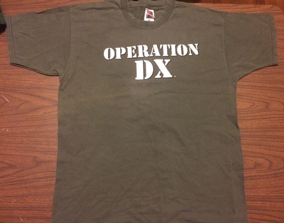 WWF D-Generation X Operation DX Troop 69 shirt 1
