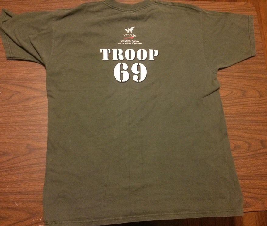 WWF D-Generation X Operation DX Troop 69 shirt 2