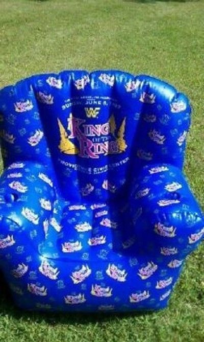 WWF King Of The Ring inflatable chair 1