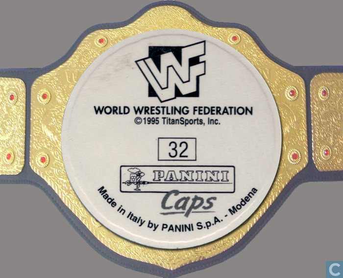 WWF New Generation pog cap 2