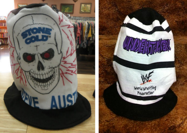 WWF Stone Cold Steve Austin The Undertaker Stovepipe hat hats