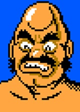 Bald Bull NES Mike Tyson's Punch-Out!