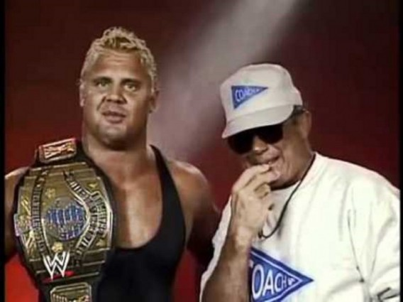 Mr. Perfect and Coach John Tolos
