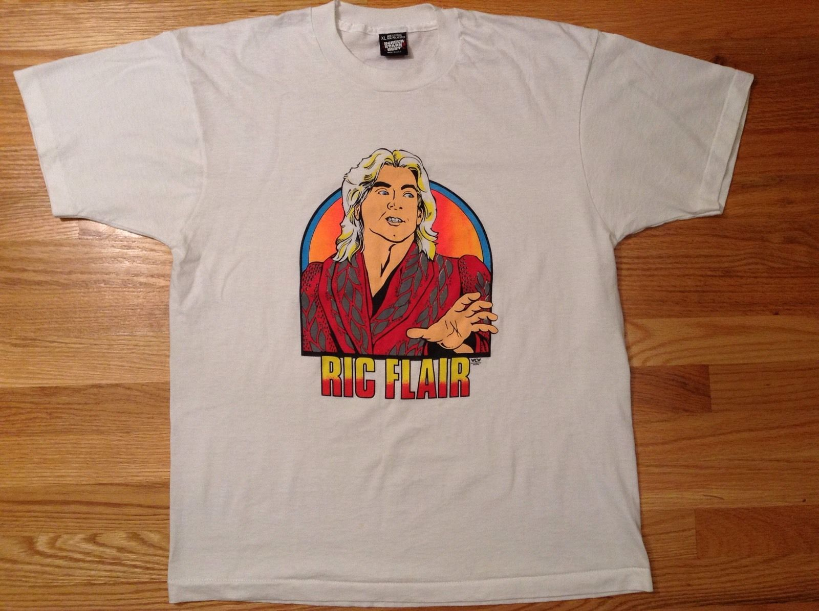 Ric Flair vintage shirt looks like Greg Valentine
