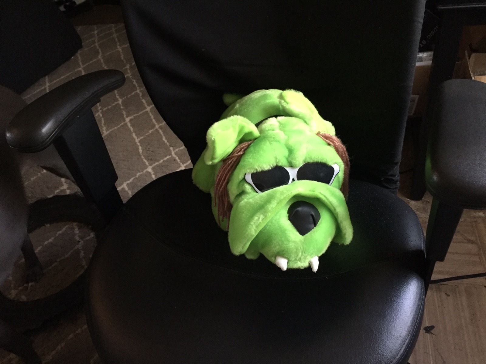 Road Dogg Jesse James plush dog 2