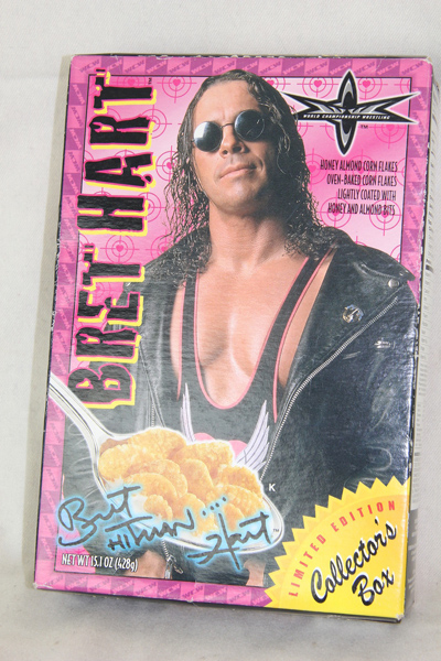 WCW Bret Hart cereal