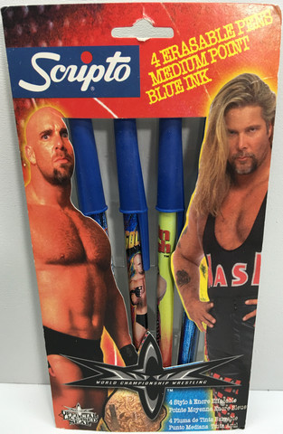WCW Erasable Pens Bill Goldberg Kevin Nash