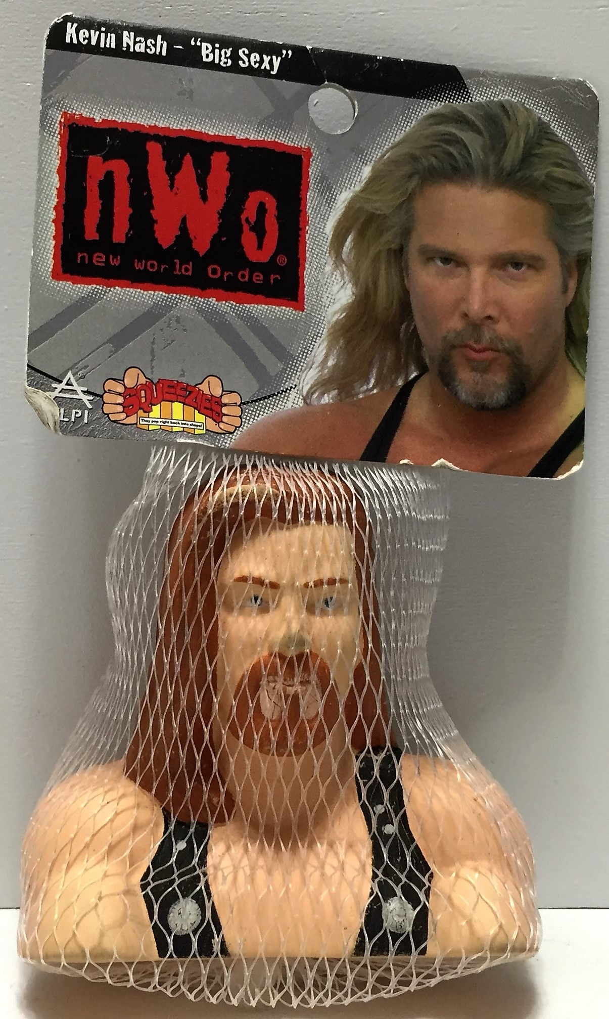 WCW Kevin Nash NWO foam head