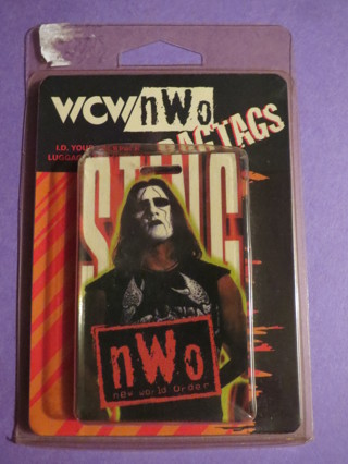 WCW Sting Bagtag bag tag