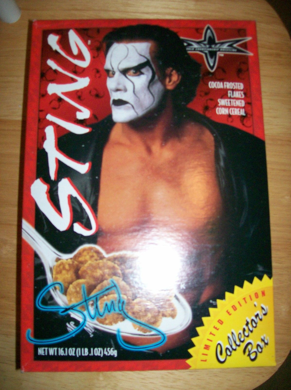 WCW Sting cereal
