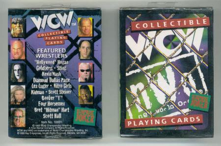 WCW playing cards