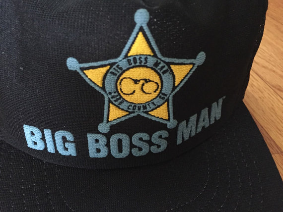 WWF Big Boss Man hat 2