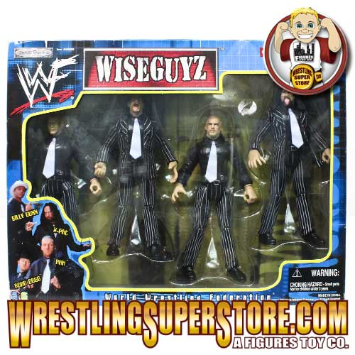 WWF D-Generation X DX Wiseguyz figures pack Wiseguys Wise Guys 1