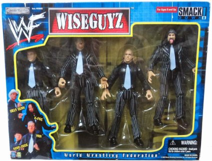 WWF D-Generation X DX Wiseguyz figures pack Wiseguys Wise Guys 2