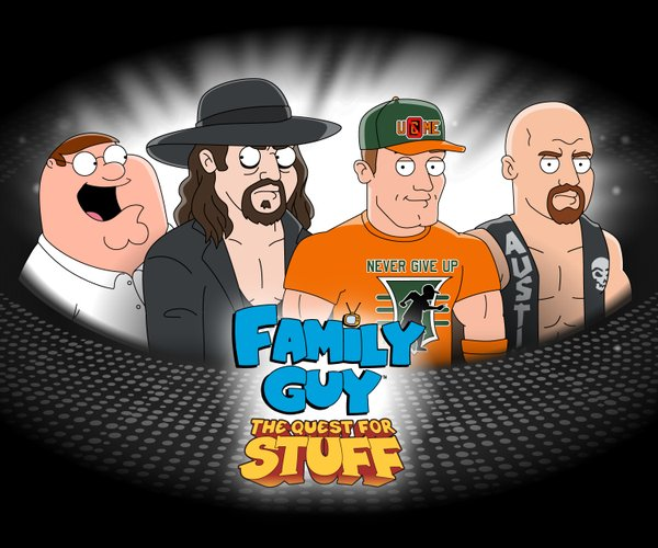 WWF Family Guy The Quest For Stuff mobile game