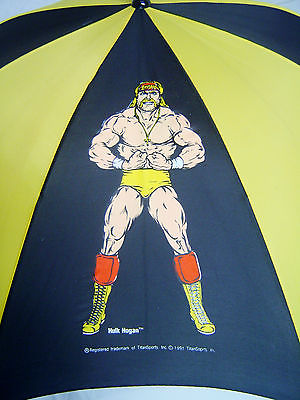 WWF Hulk Hogan Ultimate Warrior umbrella 2