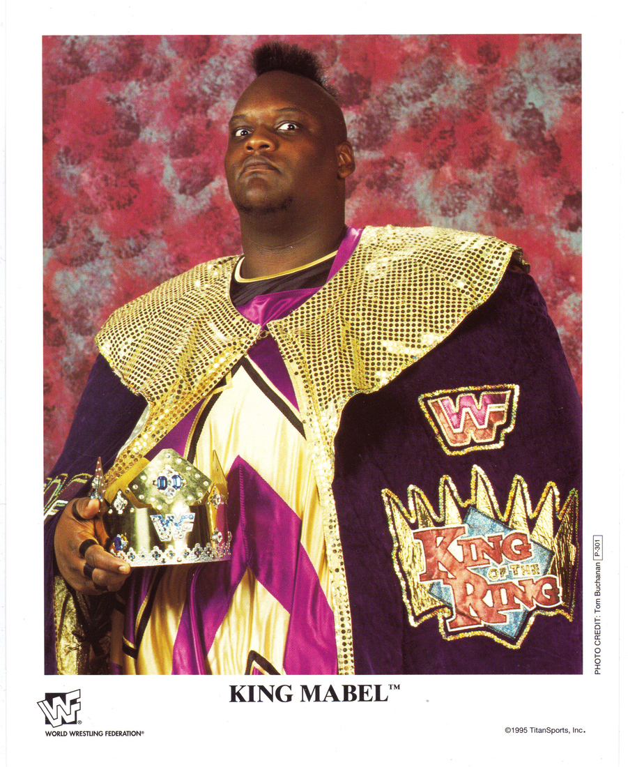 WWF King Mabel 8x10 promotional photo picture