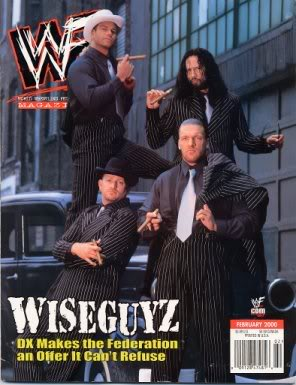 WWF Magazine D-Generation X DX Wiseguyz Wiseguys Wise Guys