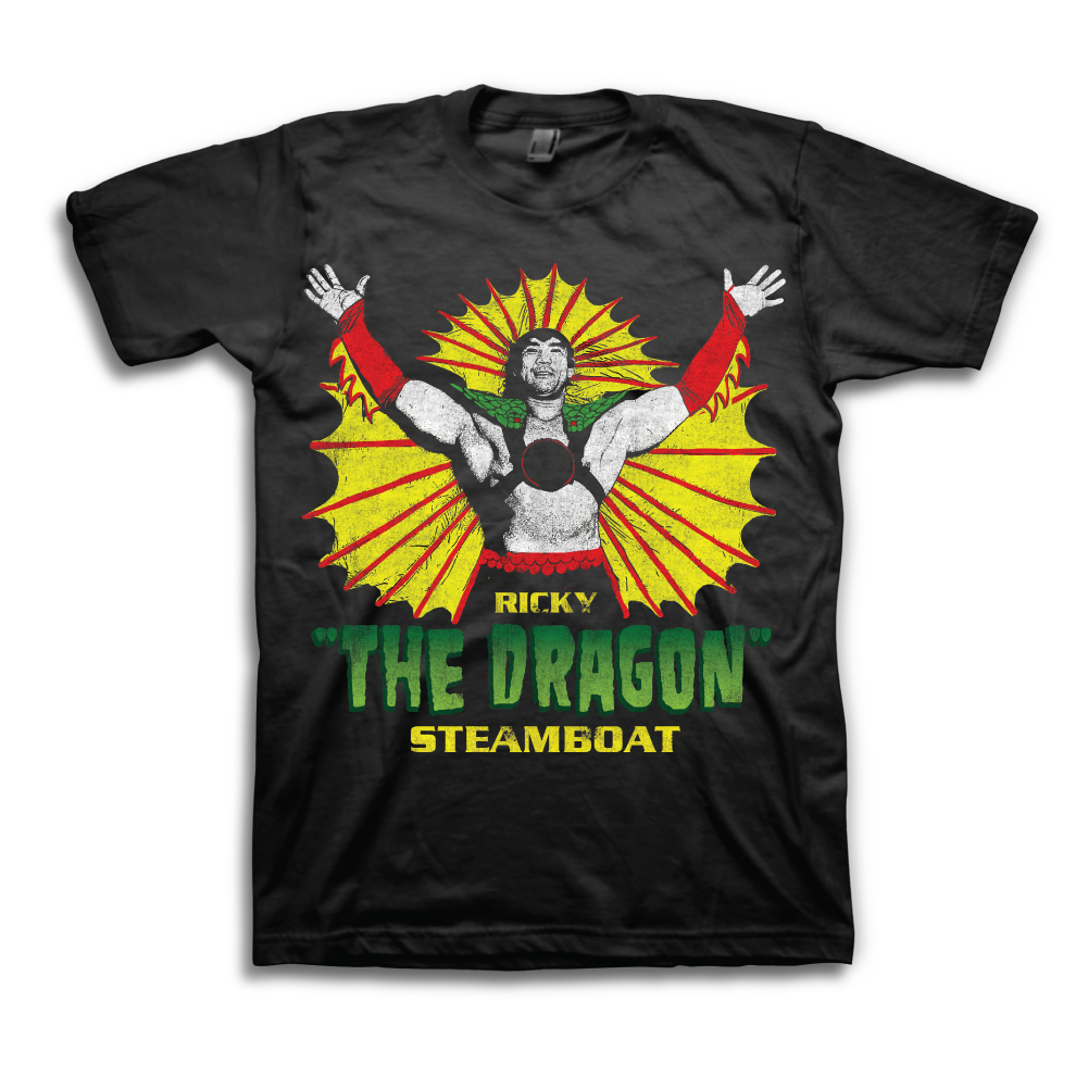 WWF Ricky The Dragon Steamboat shirt