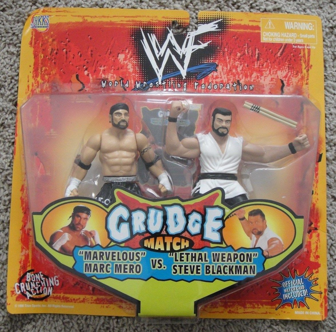 WWF Steve Blackman Marc Mero figures figure