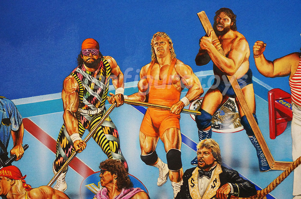 WWF Superstars Shoot-Out Hockey game art 6