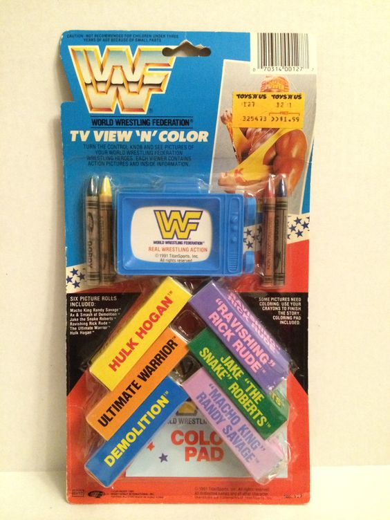WWF TV VIew 'n' Color