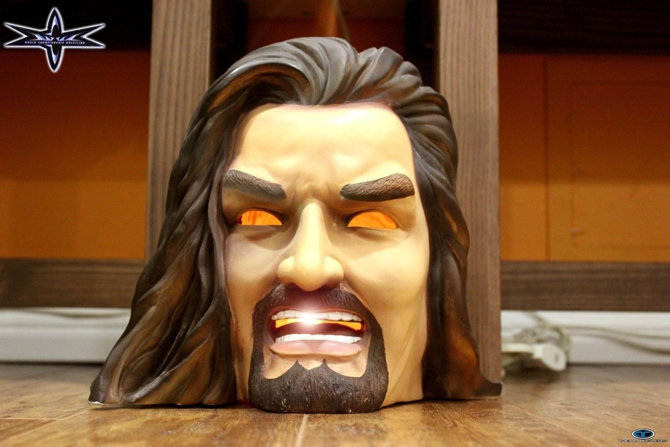 WCW Kevin Nash Head Light lamp 1