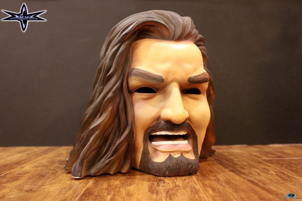 WCW Kevin Nash Head Light lamp 3