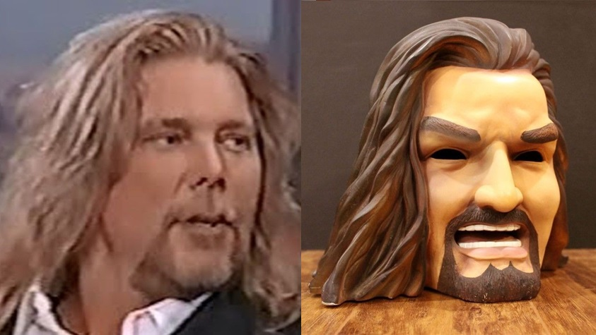 WCW Kevin Nash Head Light lamp 7