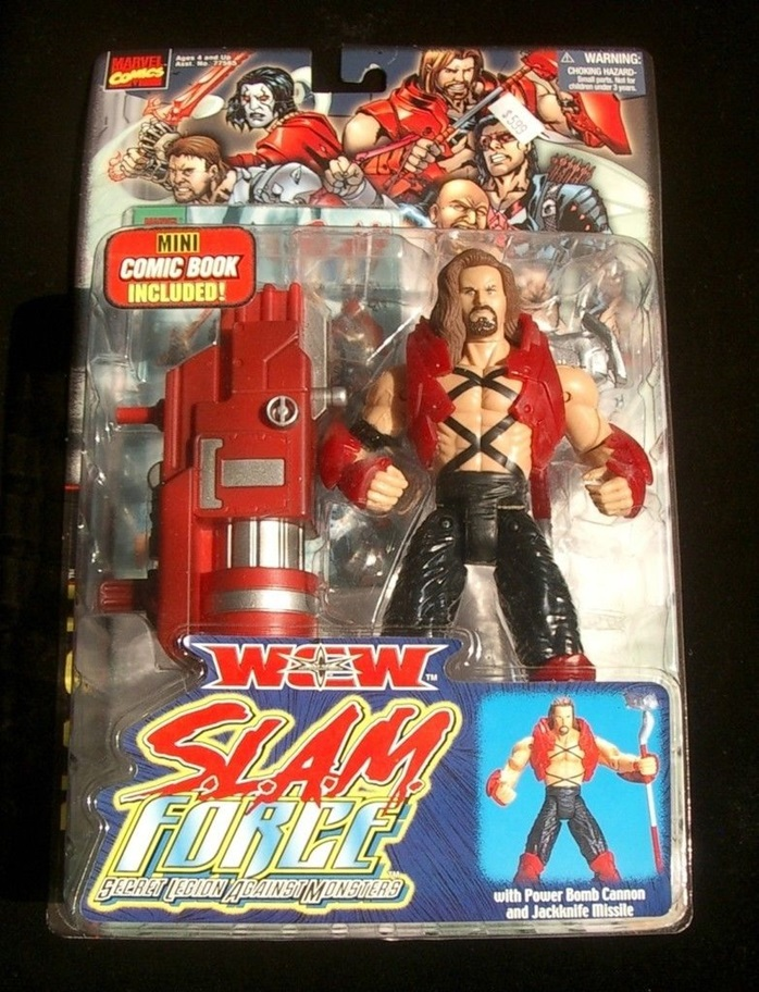 WCW S.L.AM Force Slam Force Kevin Nash figure toy