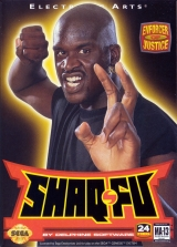 Shaq-Fu video game Sega Genesis