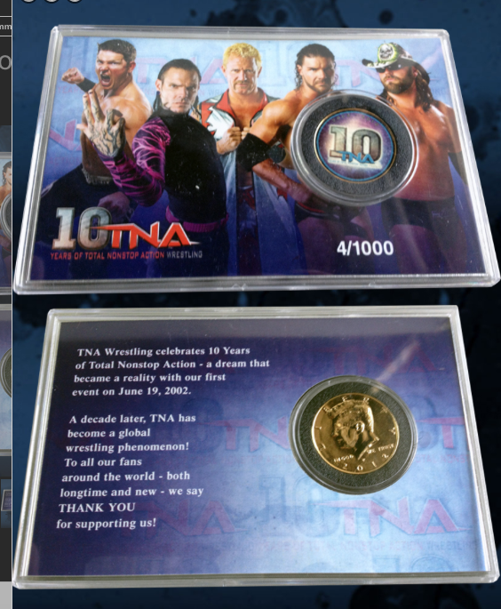 TNA 10th Anniversary Commemorative Coin