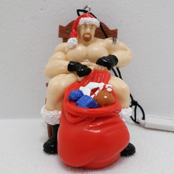 wcw-bill-goldberg-santa-claus-naked-christmas-ornament