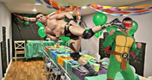 Headlies: Alberto Del Rio Beats Up Ninja Turtle At Child's Birthday Party