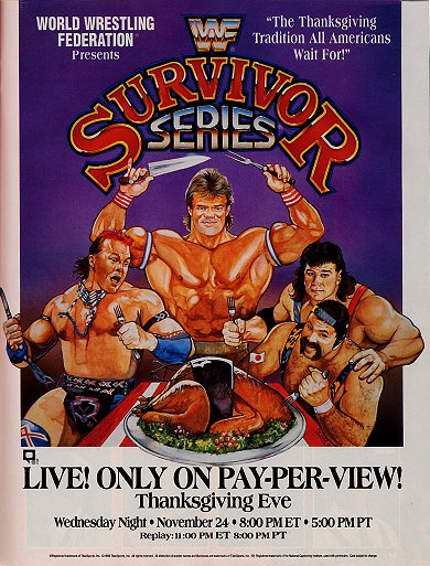 WWF Survivor Series 1993 poster
