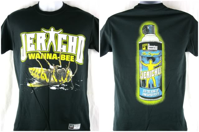 Chris Jericho Wanna-Bee shirt front and back