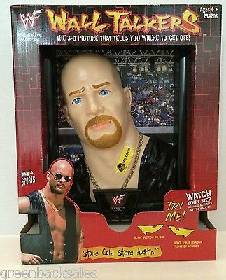 WWF Wall Talkers Stone Cold Steve Austin in box 1