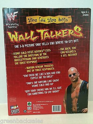 WWF Wall Talkers Stone Cold Steve Austin in box 2