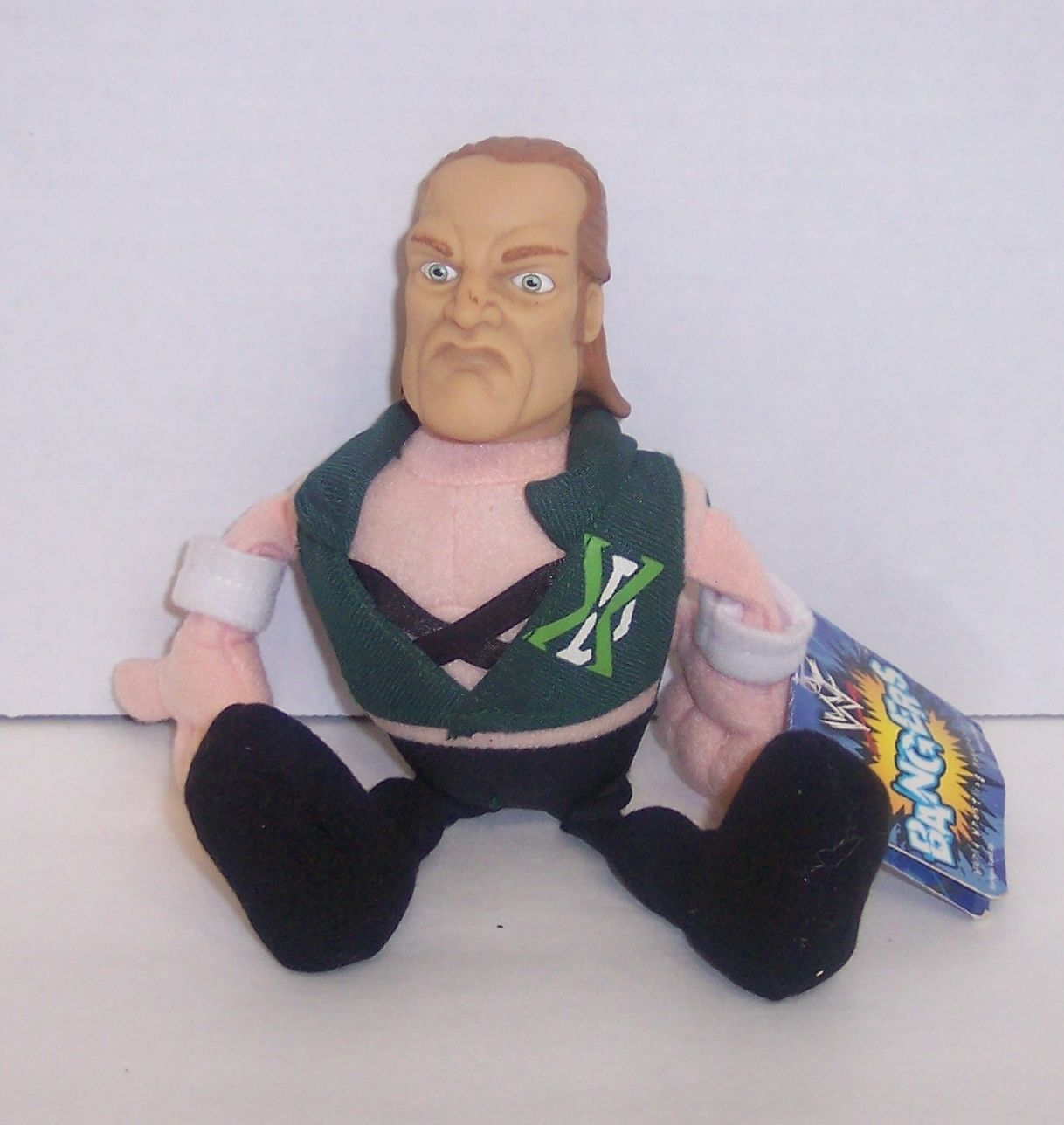 WWF Hunter Hearst Helmsley Triple H Bangers doll