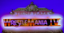 Induction: Wrestlemania IV – Crapped out in Atlantic City