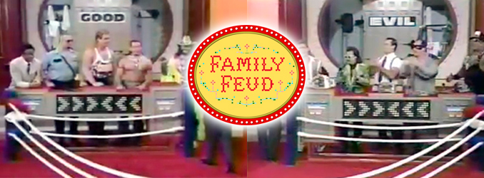 INDUCTION: WWF on Family Feud in 1993
