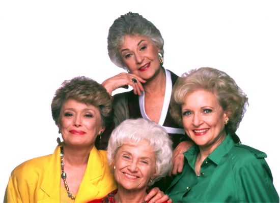 The Golden Girls group photo