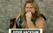 INDUCTION: Bikers' Court with Jim Duggan – Hacksaw revs up his Harley for… Big Tobacco? Huh?