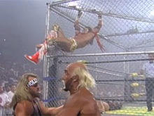 INDUCTION: War Games 98 – A Great Match Goes Up in Smoke