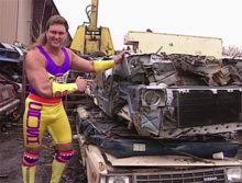 INDUCTION: The Crush Vignettes – Apparently Being a Neon Creep Walking Around a Junkyard Made You A Good Guy in the WWF of 1992