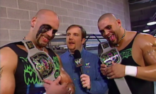 Induction: The Headbangers, Tag Team Champions of the Universe – The belts were fake, and so was Billy Gunn's ass